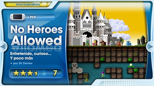 Análisis de No Heroes Allowed para PSP/PSP Go